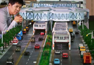 Laowaicast 44.2 — Пекин от пробок спасут суперавтобусы шириной в две полосы