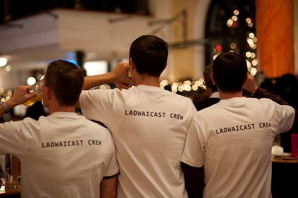 Laowaicast Crew. Фото Олега Новикова