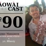 Laowaicast 90 - Денис Маккавеев о ночной жизни в Китае и ул. Ябаолу