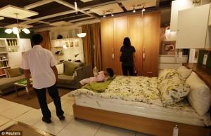 Китайцы подделали магазин IKEA / Фото. Laowaicast