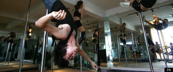 Танцы у шеста в современном Китае