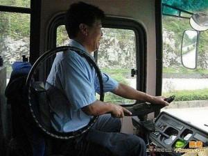 Китайский водитель